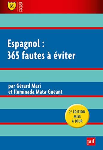 Espagnol : 365 fautes à éviter