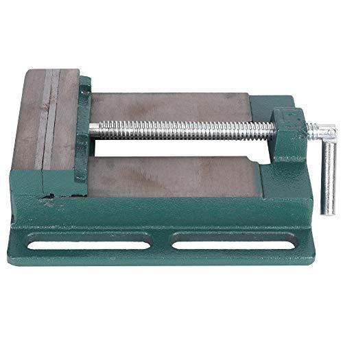 Maschinenschraubstock Einfache Zimmerei Werkzeug Holzbearbeitung Zubehör Bohrmaschine Schraubstock Fettbacke Gusseisen 5 Zoll