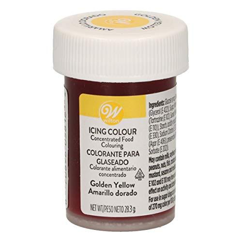Wilton Colorante Alimenticio para Glaseado en Pasta, 28.3g, Color Amarillo Dorado, 04-0-0039