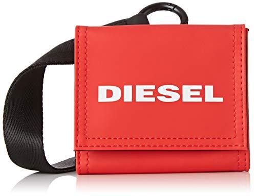 Diesel Herren Geldbörse YOSHINO LOOP, Rot (Fiery Red), 10x2.5x11 centimeters (W x H x L)