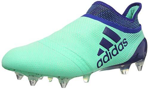 Adidas X 17+ Purespeed SG voetbalschoenen voor heren, groen (aergrn/uniink/hiregr aergr), 42 2/3 EU
