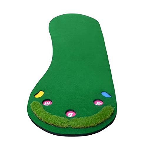 Why Should You Buy JKLL Putting Green Incline Mat for Indoor, Outdoor, Office and Home use with 5 Ho...