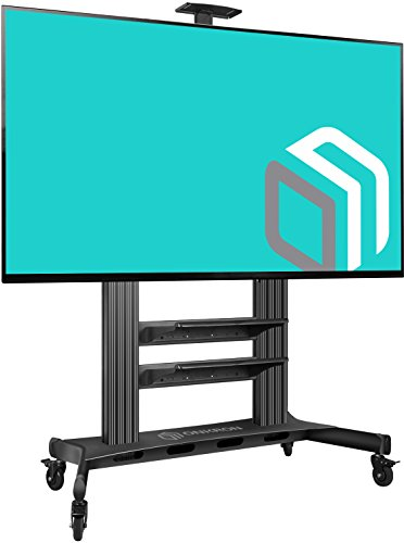 ONKRON Carro TV Soporte Móvil de Suelo para TV 60 a 100 pulg VESA máx 1000x600mm TS2811 Pie para TV Base para TV