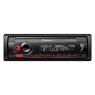 Pioneer-MVH-S420DAB-1DIN-Autoradio-mit-DAB-rot-deutsche-Menuefuehrung-Bluetooth-USB-AUX-Eingang-iPodiPhone-Direktsteuerung-Freisprecheinrichtung-Smart-Sync