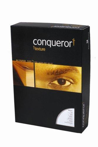 Conqueror Laid WMK Papier (FSC-zertifiziert, 100 g/m², 210 x 297) Blatt brillantweiß