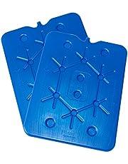 ToCi XXL koelaccu   Freezeboard (32 x 25 cm) met elk 800 ml   Blauwe koelelementen Iceaccu voor de koeltas, koelbox, ijsbox