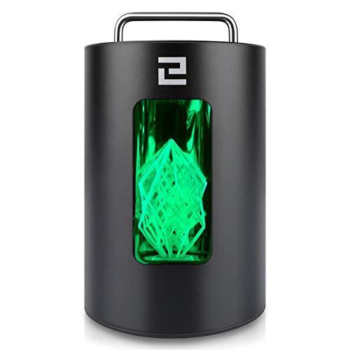 ELEGOO Aushärten Maschine Mercury 405 nm UV Resin Härtungsbox für LCD DLP SLA 3D Drucker Modelle, mit Lichtbetriebenem Plattenspieler