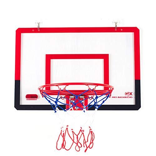 MHCYKJ Aro De Baloncesto Interior Mini Puerta Juego Montado En La Pared para Niños Colgar sobre Puertas Oficina Junta Deportes