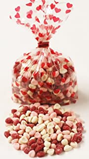 Scott's Cakes Sour Petite Hearts in a 1 Pound Red Heart Bag