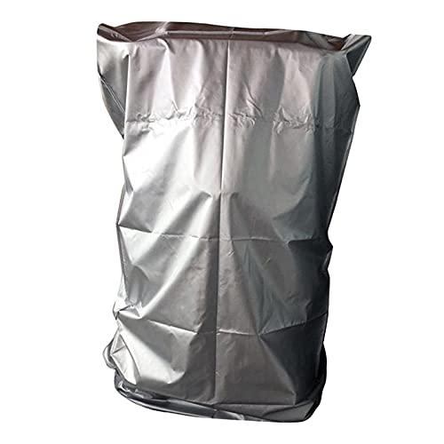 F Fityle Cubierta de Cinta de Correr para Máquinas de Funcionamiento de La Casa Plegable, Cinta de Correr Cubierta de Protección Solar a Prueba de Sol Cubierta - Silver_91x91x152cm
