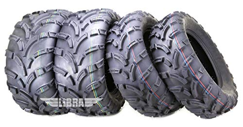 Set of 4 New WANDA ATV/UTV Tires 25x8-12 Front & 25x10-12 Rear /6PR P373-10243/10244 …