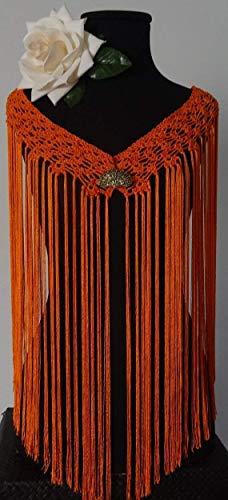 Mantoncillo de Flamenca a Crochet 😎