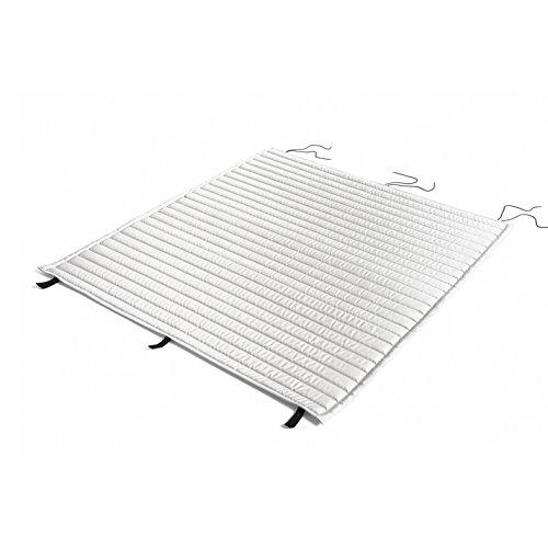 HAY Palissade Steppkissen 124x115,5cm, himmelgrau wasserabweisend für Outdoor Lounge Sofa