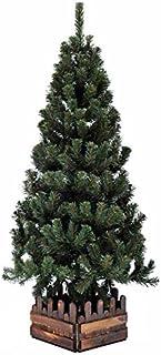 クリスマスツリー150cmスリム濃緑 品質保証高級ツリー