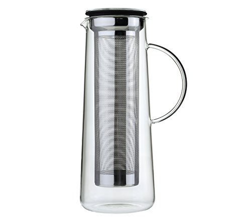 Zassenhaus Kaffeezubereiter Aroma Brew 8 Tassen, Glas, Transparent, 16.5 x 13.5 x 27.5 cm