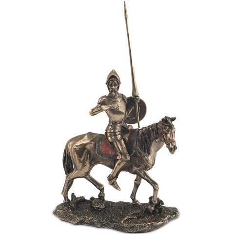 Figura Decorativa Don Quijote a Caballo