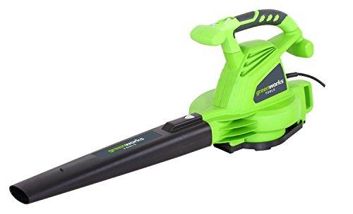 Greenworks 2402707 Elektrische bladzuiger, 2800 W