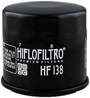 Hiflofiltro HF138 Black Premium Oil Filter