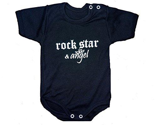 Babybody Rock Star & Angel - Black & White- Limited Edition (62/68, schwarz)