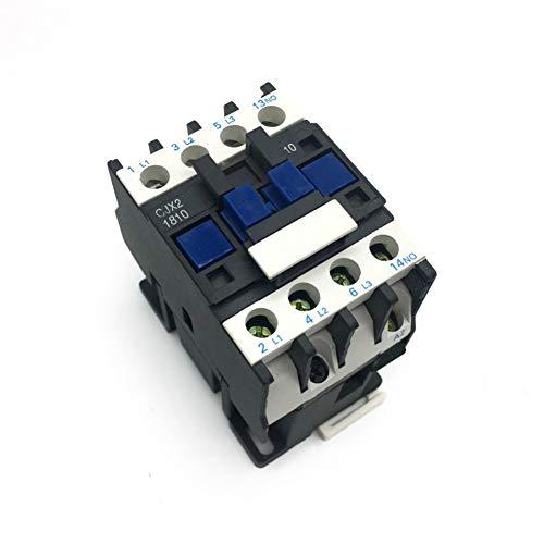 Cjx2-1810 Lc1 Contactor De Ca 16A Trifásico Voltaje De Bobina Tripolar 380V 220V 110V 36V 24V 50 / 60Hz Montaje En Riel Din De Buena Calidad