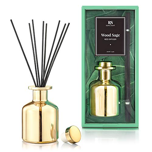 RS Sunlight Reed Diffuser with Glass Bottle - Mirror-Like Finish