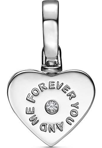 JETTE Silver Damen-Charm 925er Silber Zirkonia One Size 87606732