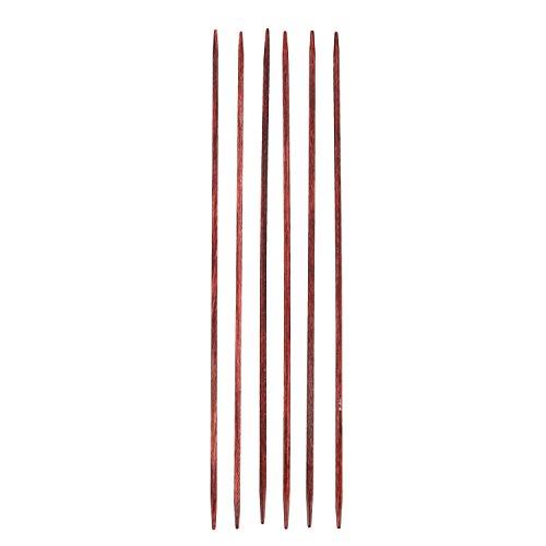 Cubics-Holznadelspiel, Stärke 2,5; (Länge 15cm) Neuheit!!! - Quadratische Nadeln von KnitPro!!!