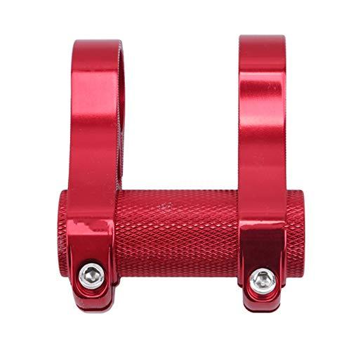 Bike Handlebar Stem Bicycle Handlebar Extension Adjustable Double Stem Folding Bike Stem Riser Bicycle Handlebar Stem Extender Fit For The Bike Lover (Color : Red, Size : 7x8cm)