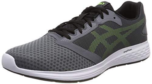 Asics Patriot 10, Zapatillas de Running Hombre, Gris (Steel Grey/Hazard Green 031), 40 EU