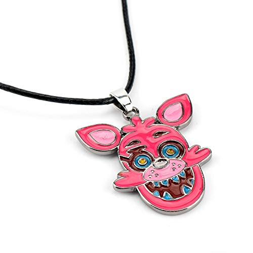 ZYLL Collar De Cadena De Cuerda De Animal Colorido Creativo, Joyería De Juego, Collar De Cuerda De Cuero, Niños