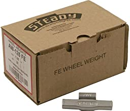 Box of 25 Coated AW Wheel Weights 1.25 ounce