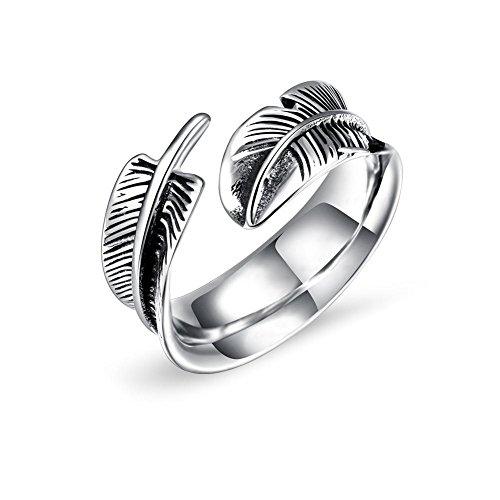 Joyas de anillo de acero de titanio para hombres, 3 tamaños