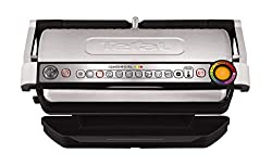 Effective grilling results from rare to well-done; automatic thickness measurement adapts the cooking for efficient results LED cooking level indicator accurately indicates the level of cooking from rare to well-done; 800 sq. cm cooking surface, with...