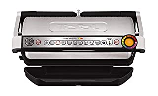 Tefal OptiGrill+ XL GC722D40 Intelligent Health Grill, 9 Automatic Settings, Stainless steel, 2000W, 6-8 Portions (B079T64DX7) | Amazon price tracker / tracking, Amazon price history charts, Amazon price watches, Amazon price drop alerts