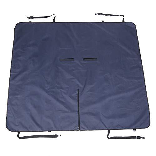 DAUERHAFT Waterproof, Dirt-Proof, Pet SUV Back Seats, Pet Safe Tool with The Adjustable Buckle,(Navy Blue)