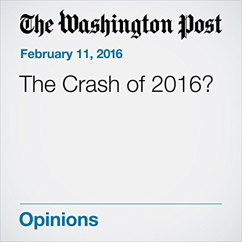 The Crash of 2016? cover art