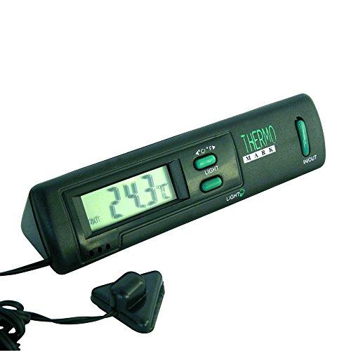 Carpoint 1121211 Thermomètre Intérieur/Extérieur Noir