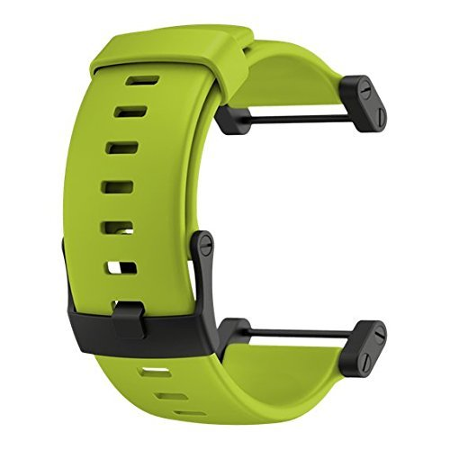 Suunto Core Replacement Part Crush Rubber Strap Lime Size:One Size by