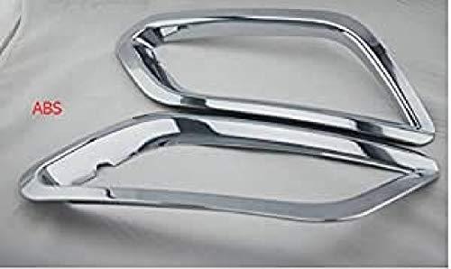 Emblem Trading Emblem Nebelscheinwerfer Zierleisten Blende Abdeckung Edelstahl Optik Vorne Mokka