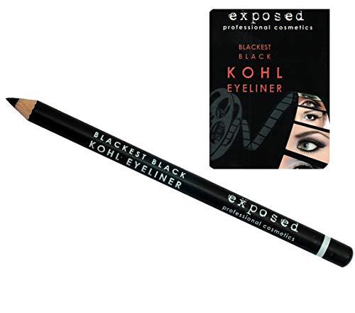 Exposed Kohl Eyeliner Pencil Blackest Black by Exposed