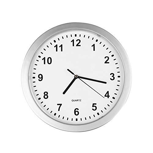 Reloj de Pared Organizador de joyería Unisex Caja de Almacenamiento Reloj de Pared Reloj Secreto Reloj de Seguridad para escondidas Dinero en Efectivo (Color : White)