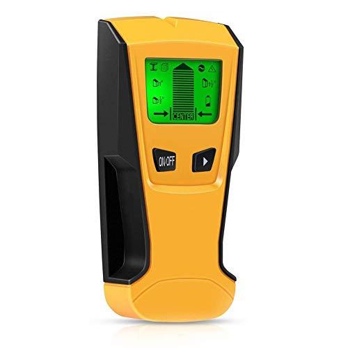 LIGHTOP Ortungsgerät Multidetektor Digitales Stud Finder 3 in 1 Leitungssucher für Metall Rohre Holz und AC Draht
