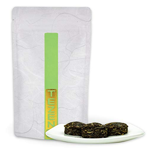 Sheng Pu-Erh Tee aus Yunnan, China | Affe Mini Tuo (2016) Pu Erh Tee | Hochwertiger chinesischer Pu-Erh Tee (50 g) als Mini Tuo
