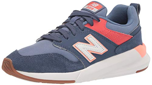 New Balance 009 V1, Zapatillas Deportivas. para Mujer, Vintage Indigo Toro Rojo Ginger Pink, 39.5 EU