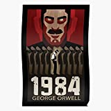 Orwell 1984 State Book Nightmare George Police Politics