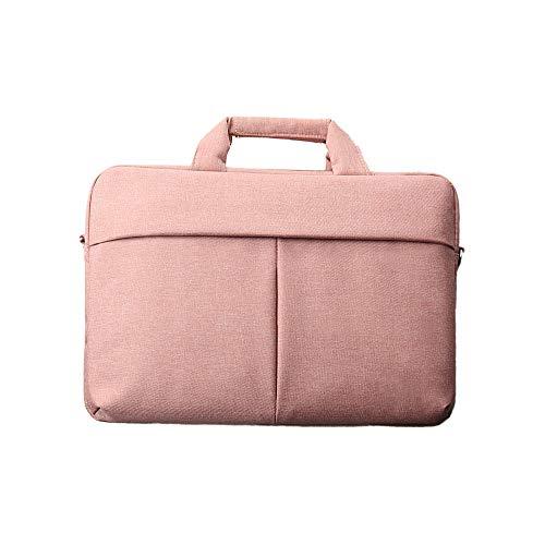 Oxford Bolsos Bandolera para Hombre Bolsa de Hombro, Casual Sling Satchel Crossbody Daypack Escuela para Trabajo Uso Diario Viajes Senderismo (Color : Pink)
