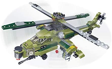 dOvOb Helicopter Military Army Airplane Building Bricks Set with 1 Figure 392 Pieces Air Force product image