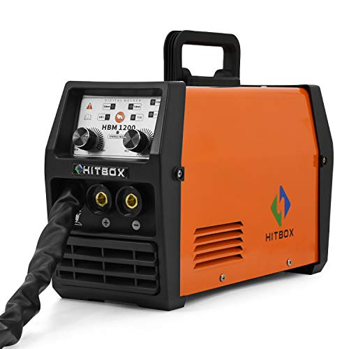 HITBOX 3in1 MIG Weldr 220V ARC LIFT TIG Flux Core Wire IGBT MIG Welder Machine