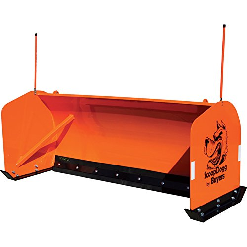 ScoopDogg Snow Pusher for Smaller Ag/Compact Tractors - 6Ft.L, Model Number 2604106