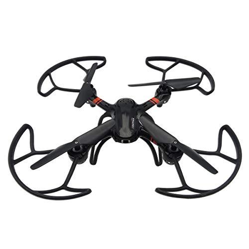 Rayline RC Drohne 33043 Super-F Quadrocopter mit Fernbedienung 2.4GHz und 6 Axis Gyroskope schwarz